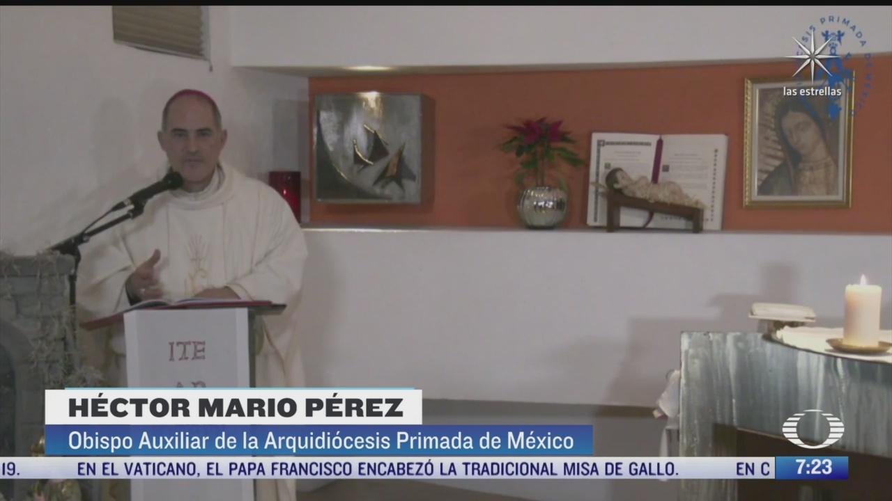 dedican homilia de nochebuena a fallecidos y hospitalizados por covid 19 en mexico