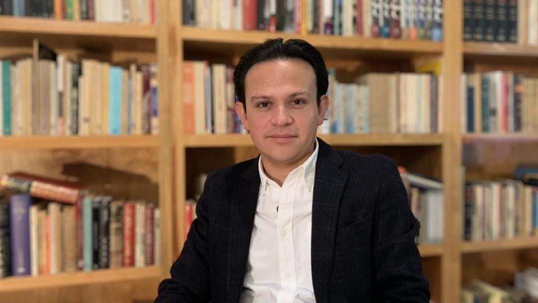 Escritor mexicano Juan Rivera Arroyo