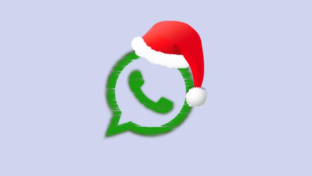 Cómo ponerle un gorrito de Santa Claus al ícono de WhatsApp