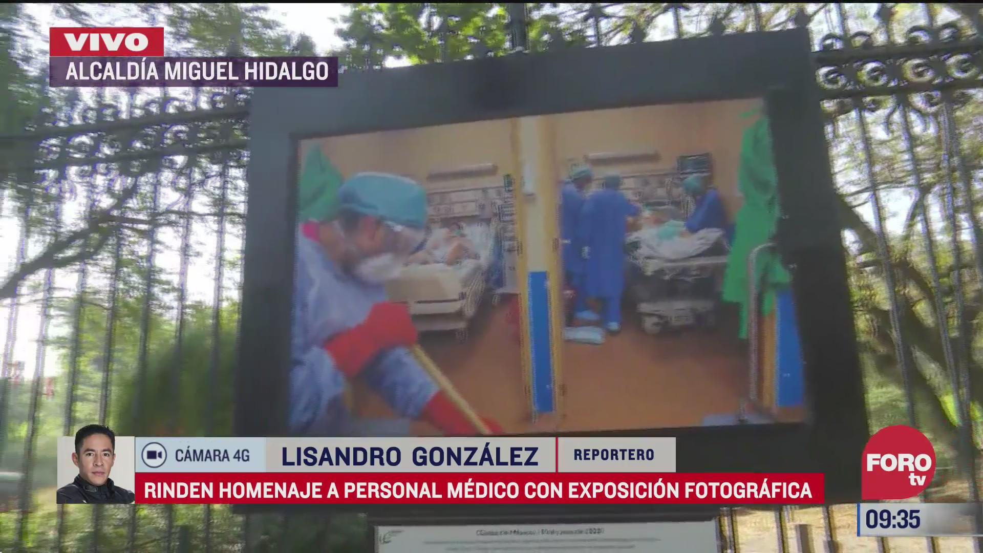 exposicion fotografica de rejas de chapultepec rinde homenaje a personal medico