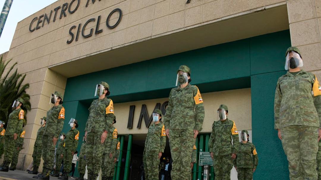Ejército recibe capacitación para aplicar vacuna contra el covid-19