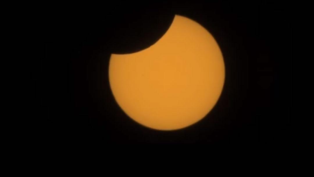 Los internautas están compartiendo las imágenes del eclipse solar total que se verá en Chile, Argentina y otros países de Sudamérica