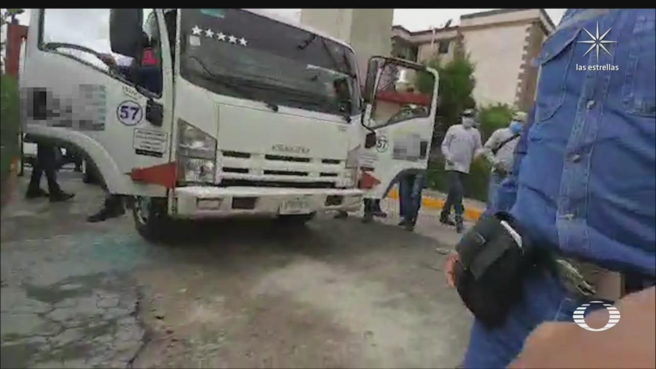 gaseros denuncian ataques de grupos criminales en el valle de mexico
