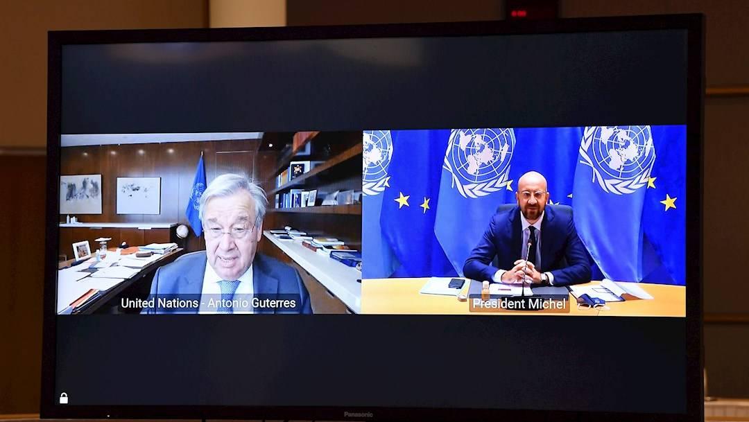 El secretario general de la ONU, António Guterres, pidió al mundo declarar emergencia climática