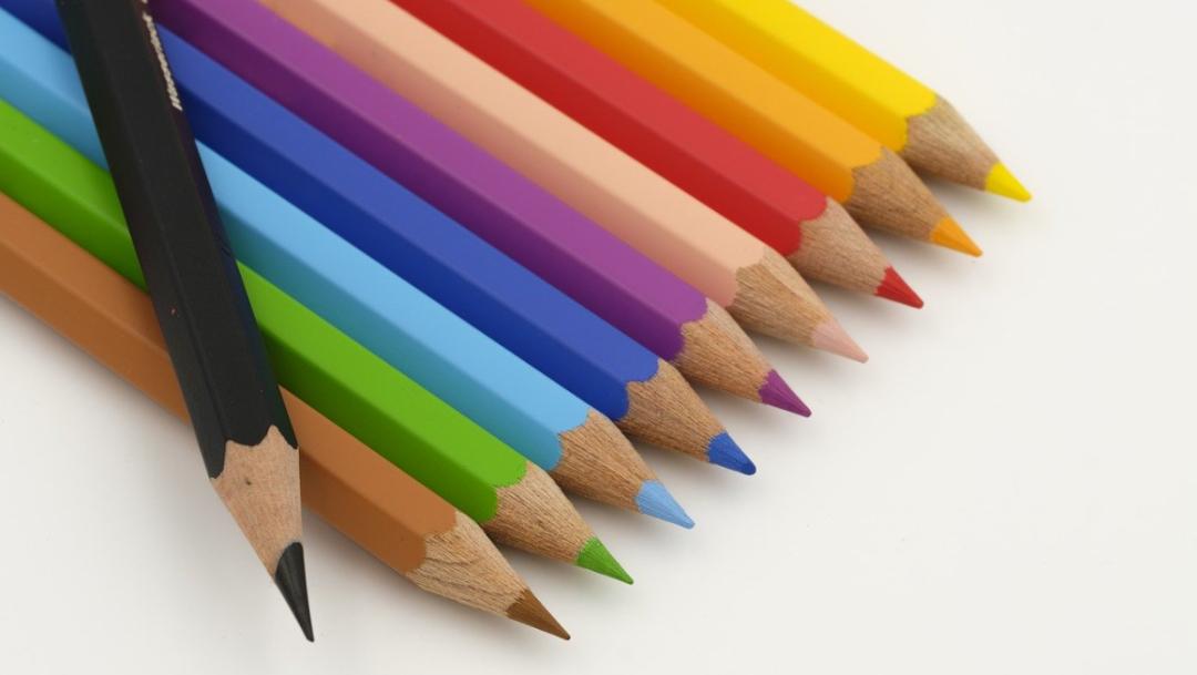 escuela utiles escolares lapices colores