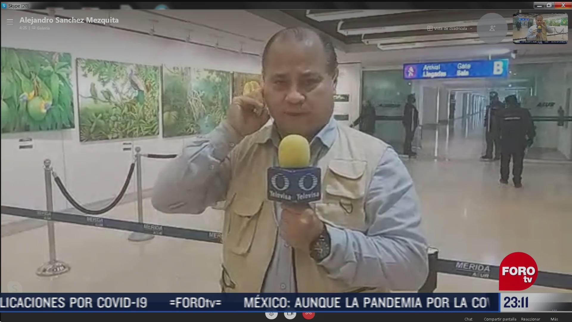 llegan las cenizas de armando manzanero a merida yucatan