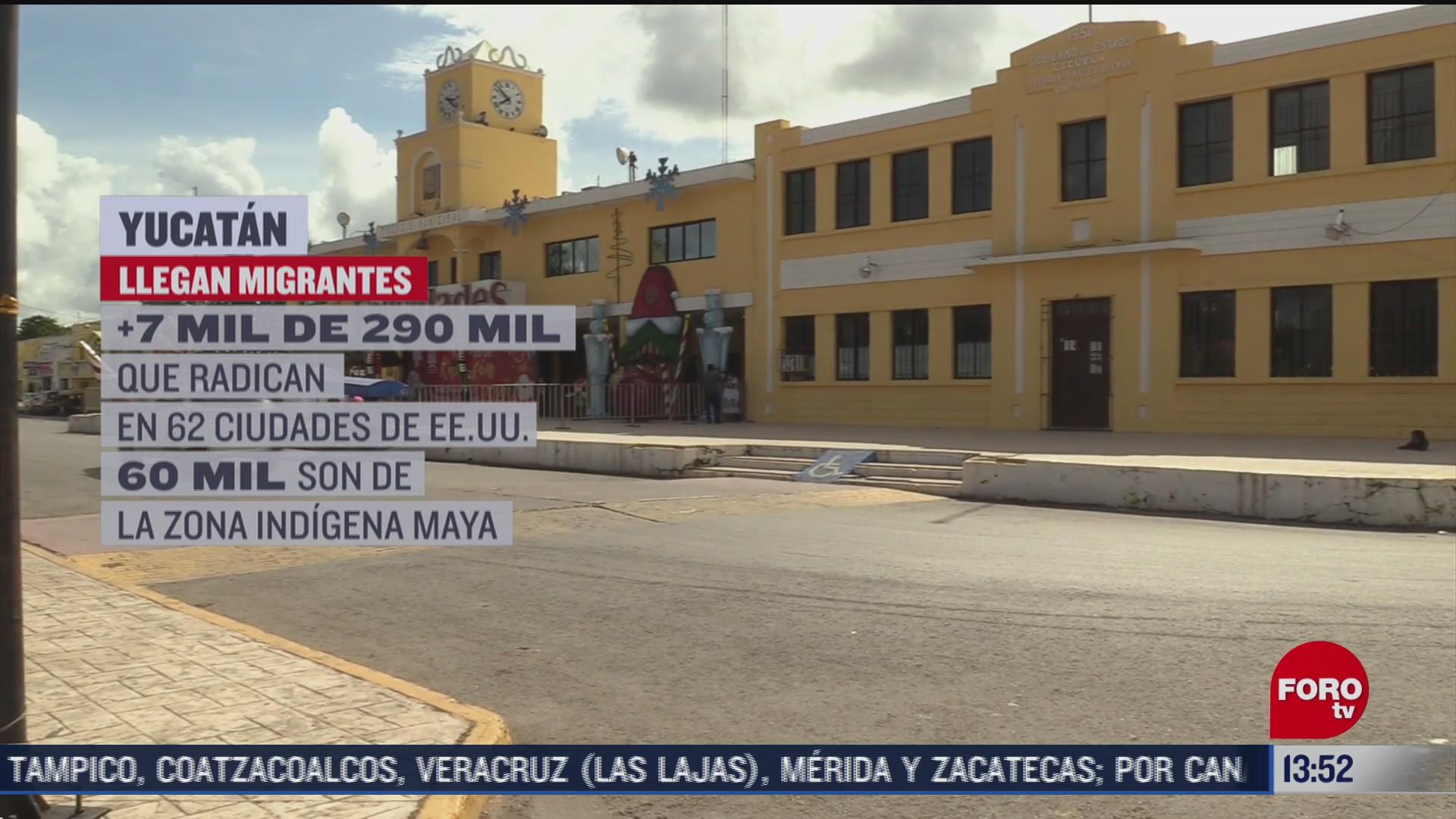mas de siete mil migrantes llegan a yucatan para navidad