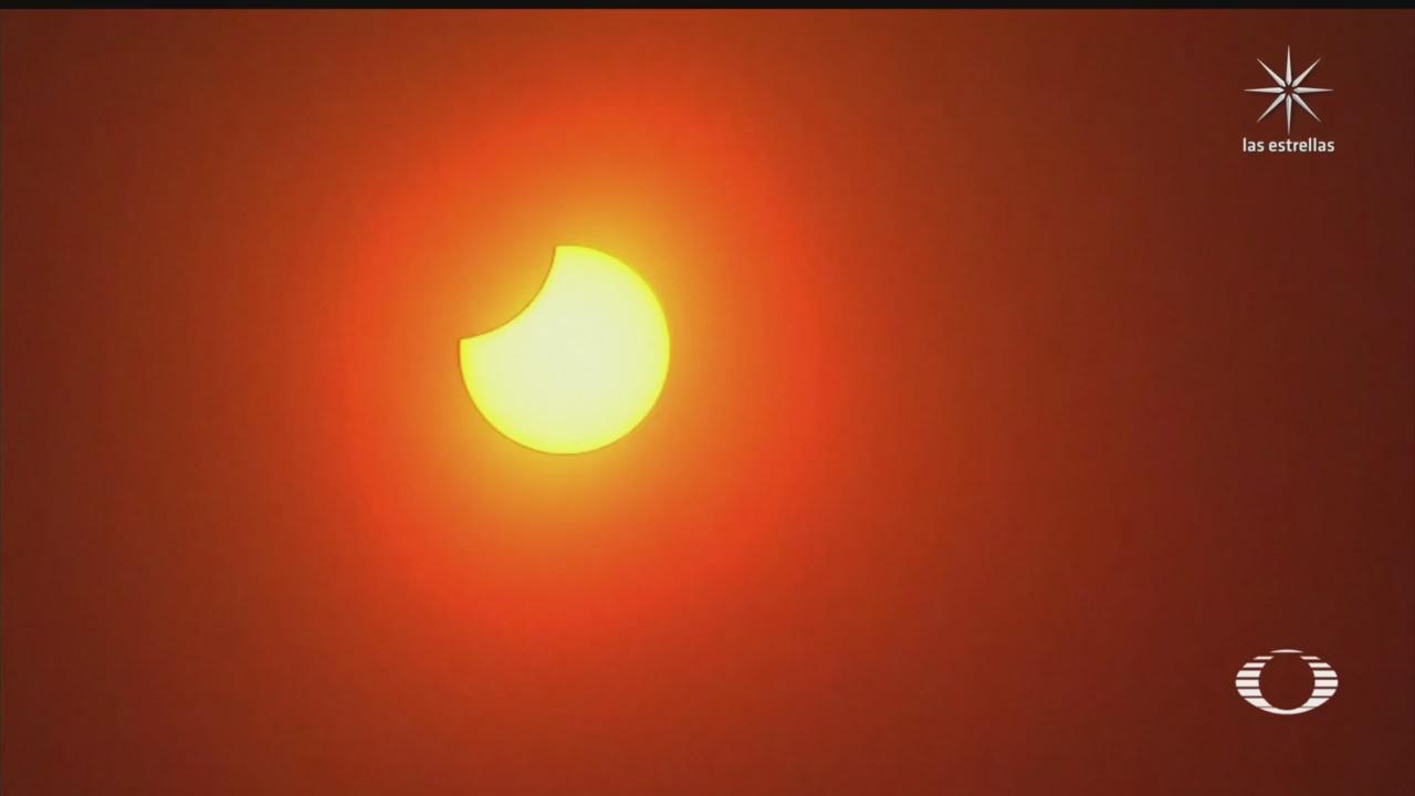miles desafian a la pandemia y observan el eclipse solar