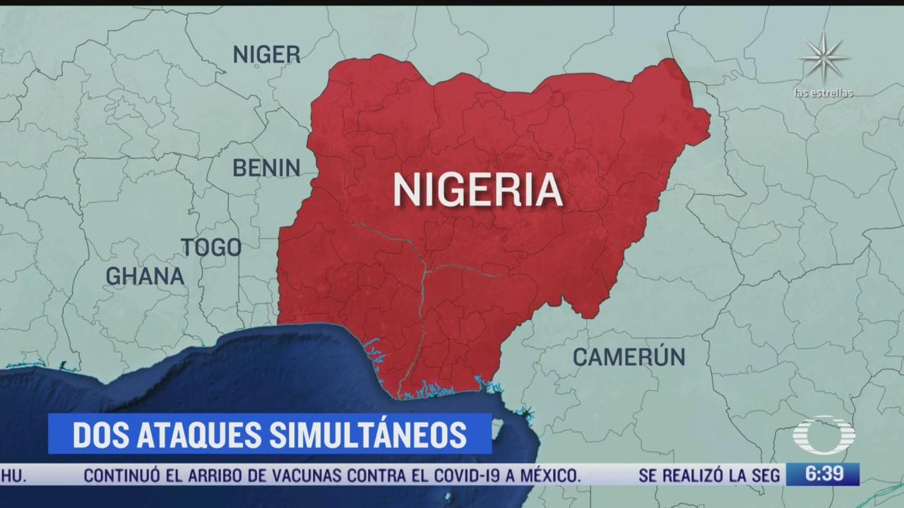 mueren 17 personas en ataques simultaneos en nigeria
