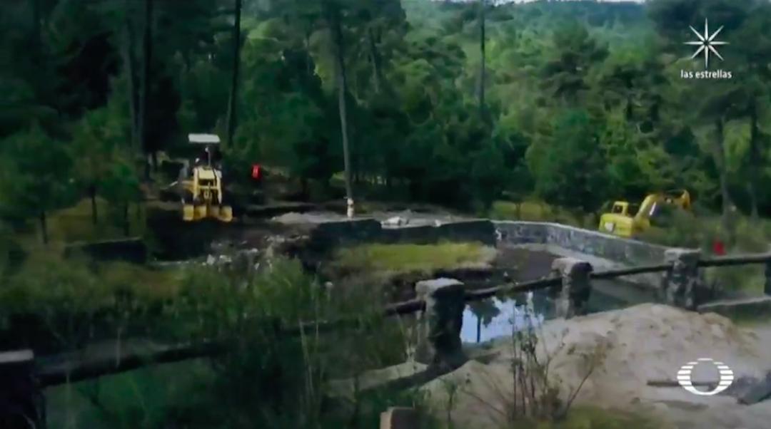 Obras en zonas de manantiales preocupa a habitantes de San Lorenzo Acopilco, Cuajimalpa