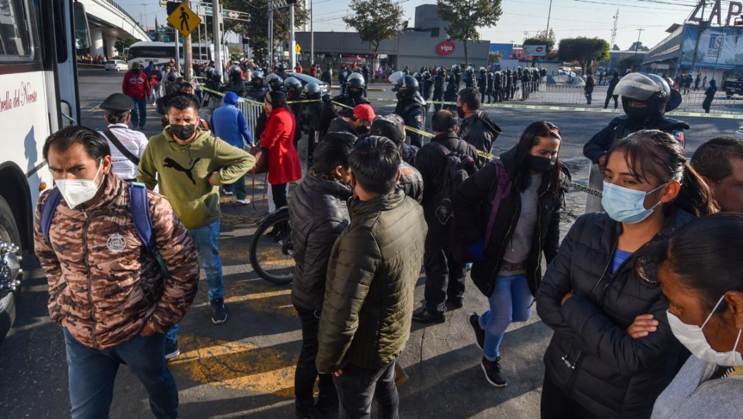 Declaran toque de queda en Toluca por COVID-19