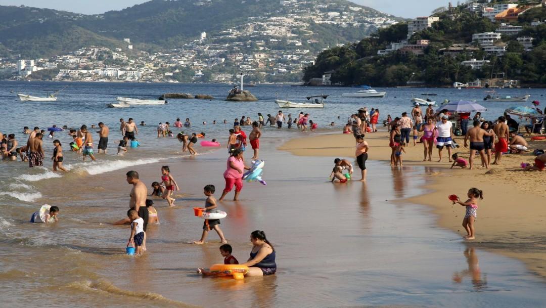 Pelea entre turistas deja un lesionado en Acapulco, Guerrero