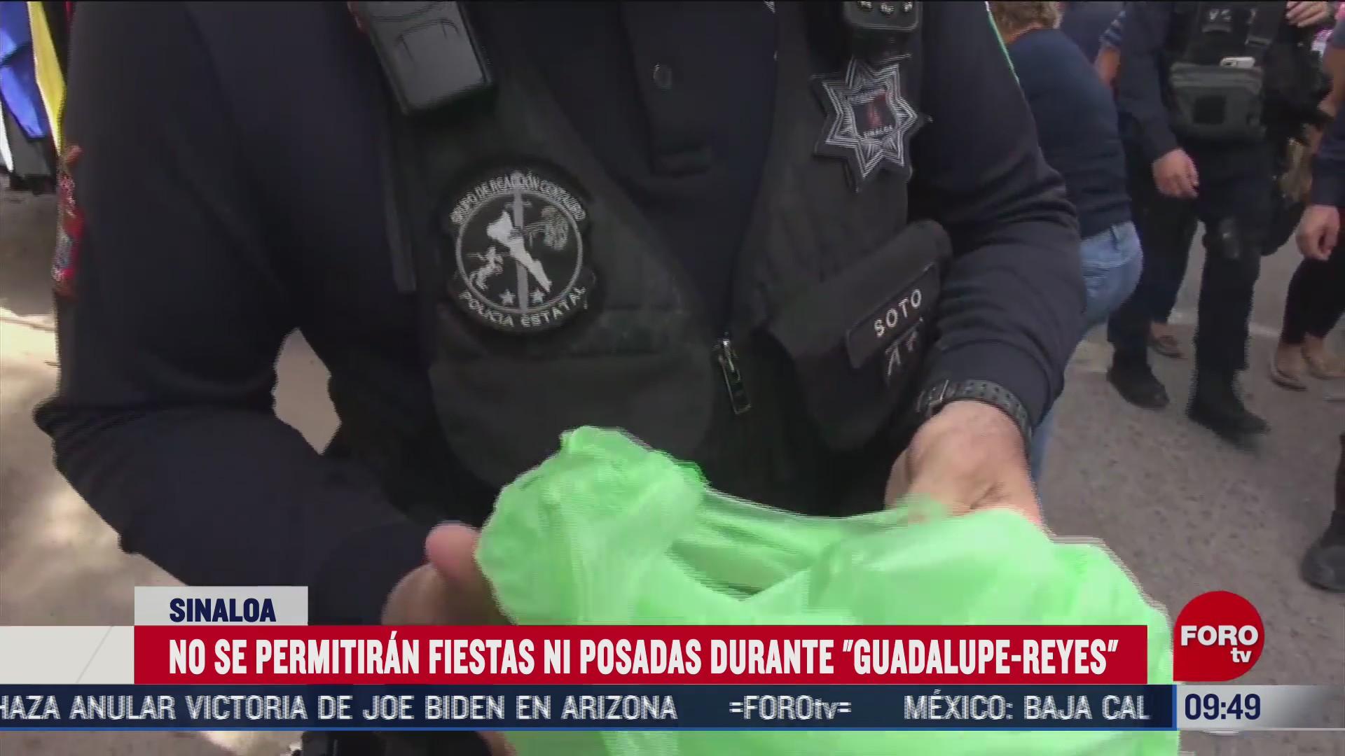 policia de sinaloa alista operativo guadalupe reyes para fiestas decembrinas