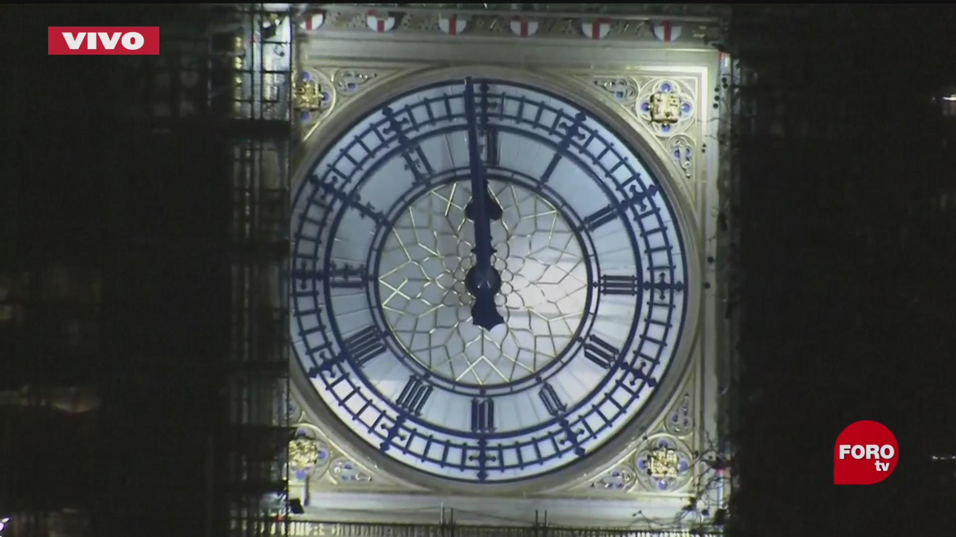 reino unido celebra el ano nuevo y la entrada en vigor el brexit