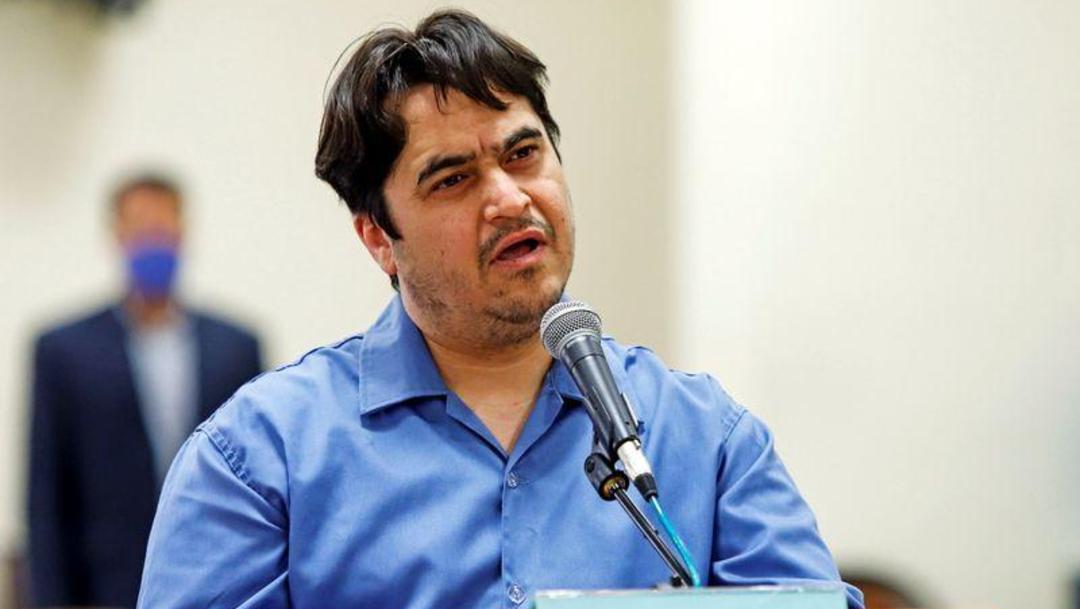 Fotografía del activista y periodista iraní Ruholá Zam, director de la web Amadnews. (Foto: Reuters)