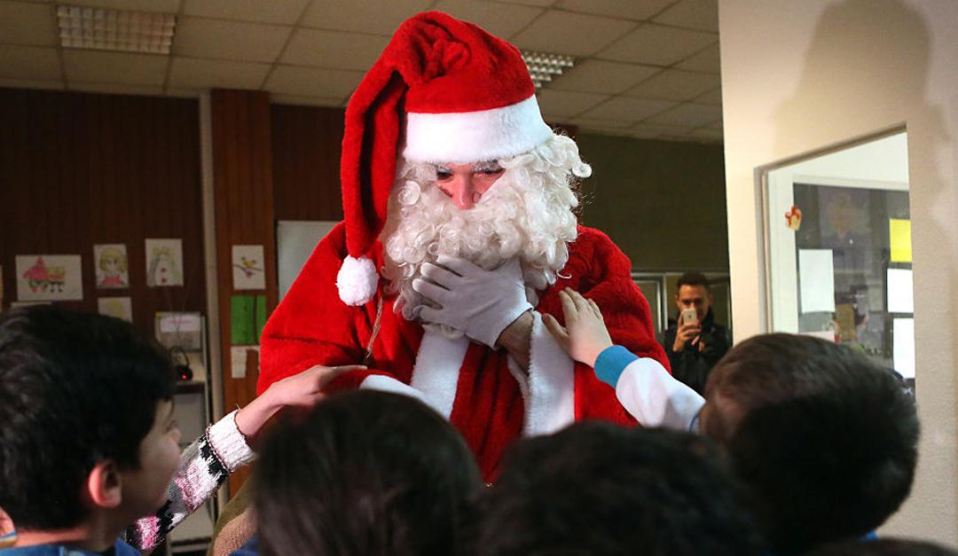 Saludos de Santa Claus, una nueva forma de extorsión