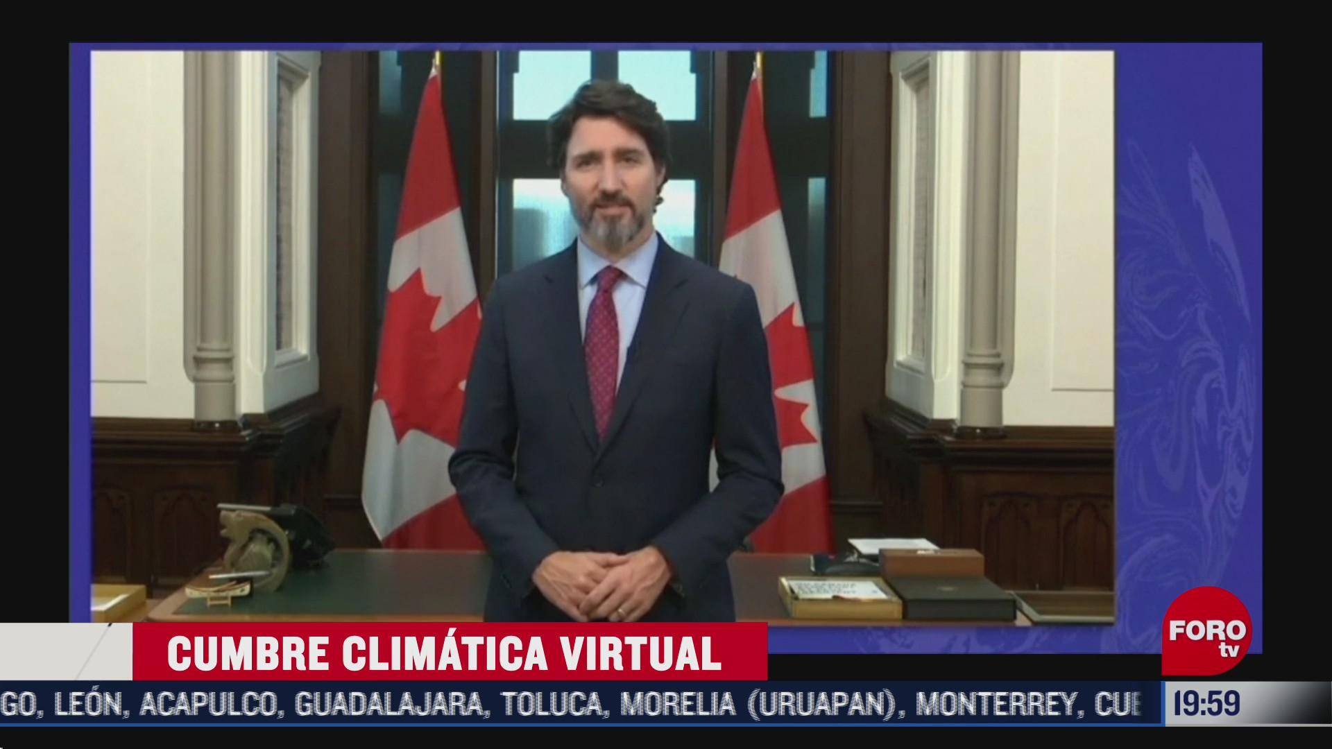 se realiza cumbre climatica virtual para celebrar los cinco anos del acuerdo de paris