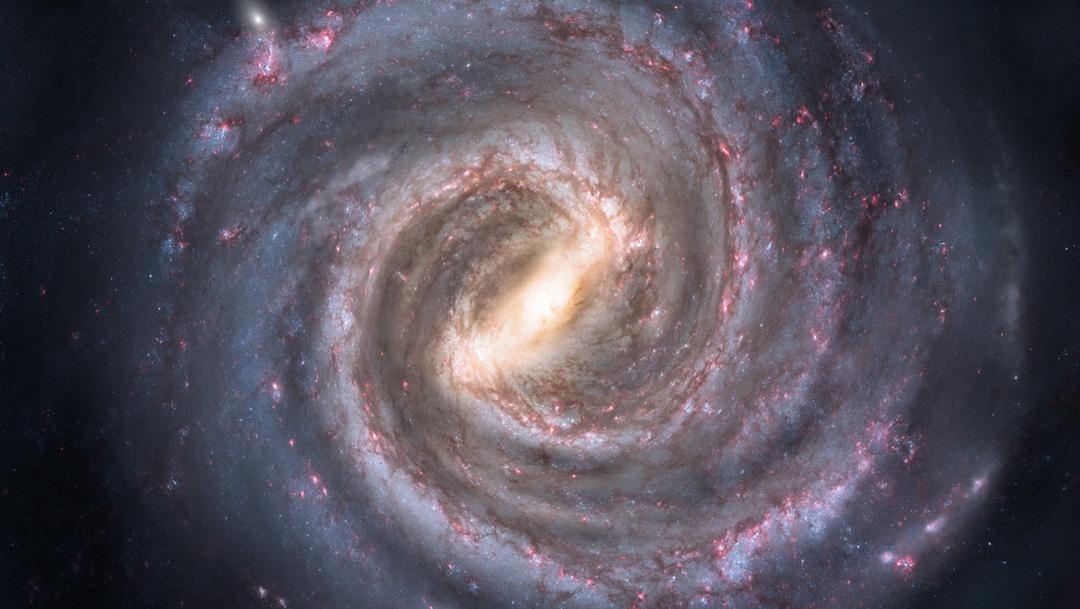Astrónomos descubrieron que la Tierra está dos mil años luz más cerca del agujero negro supermasivo de nuestra galaxia, la Vía Láctea