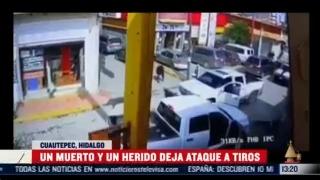 tiroteo entre huachicoleros deja un muerto y un herido en cuautepec hidalgo