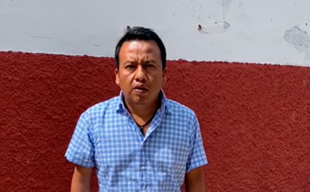 Alcalde de Frente Comalapa en Chiapas aclara si fue amarrado a un árbol por pobladores