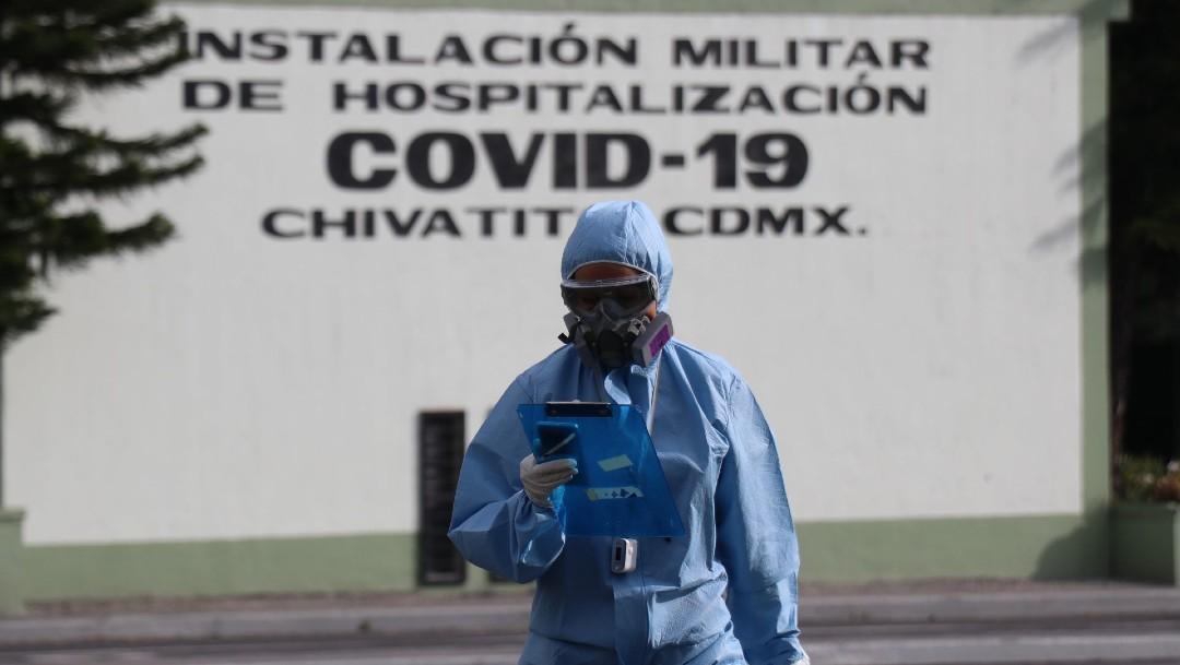 Amplían instalaciones de la Sedena, en Chivatito para atención a COVID, ante saturación de hospitales