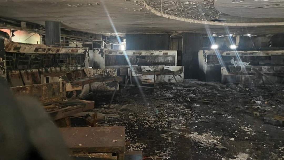 Así quedó el Centro de Control de Metro CDMX tras el incendio