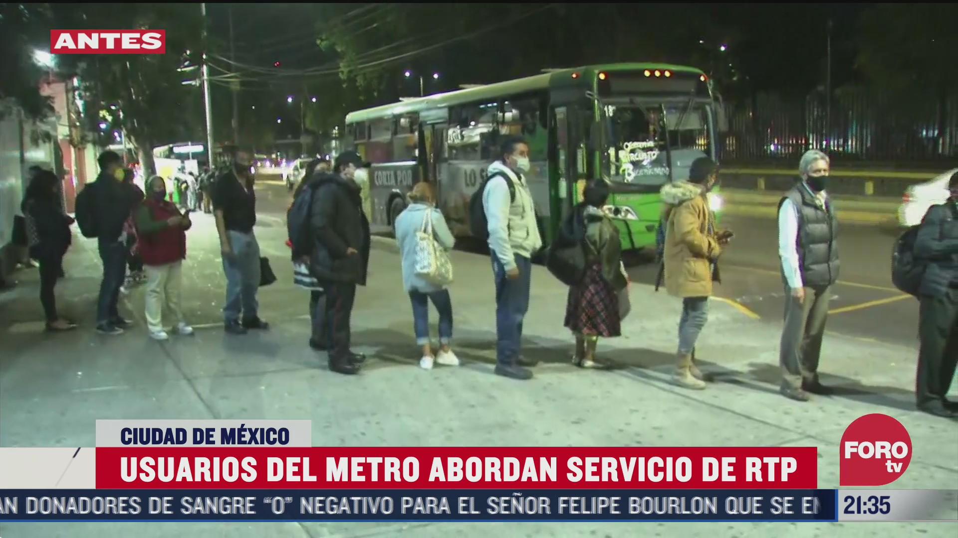 aumenta velocidad de unidades de transporte emergente de movilidad de las lineas 12 y 3 del metro