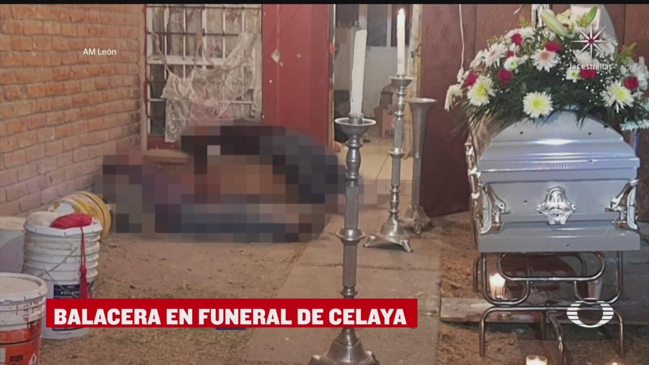 balacera en funeral deja nueve muertos en celaya