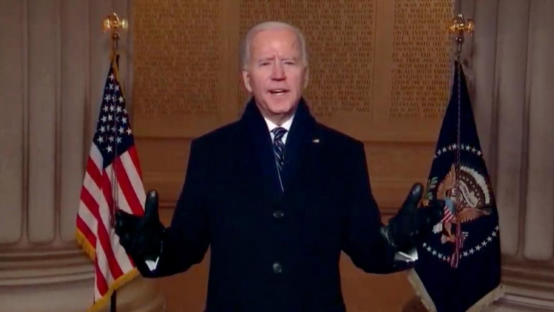 Fotografía del presidente de Estados Unidos, Joe Biden