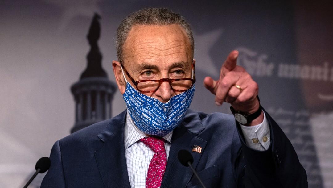 Juicio político a Trump será justo, asegura Chuck Schumer, líder del Senado