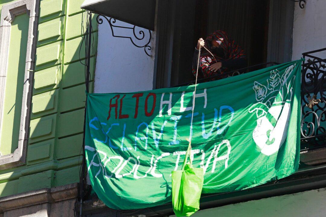 Feministas de México celebran Aborto en Argentina