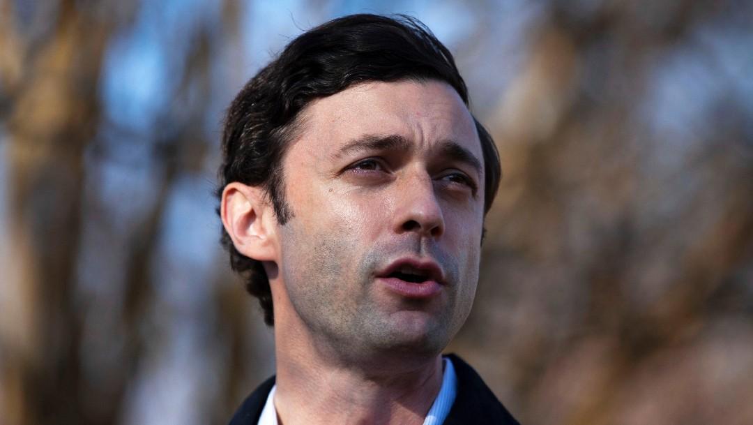 El candidato demócrata Jon Ossoff
