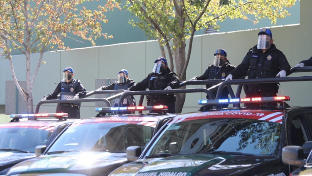 CDMX tendrá policía COVID-19 para disolver fiestas