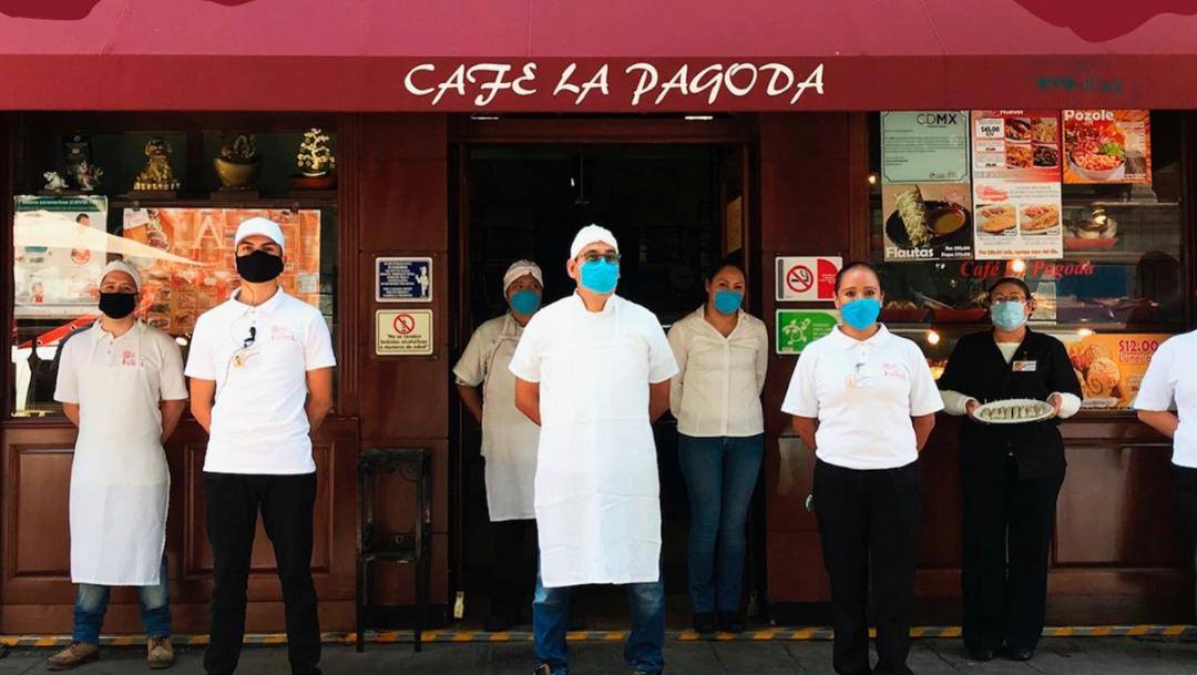 Café La Pagoda de la CDMX cierra de forma indefinida
