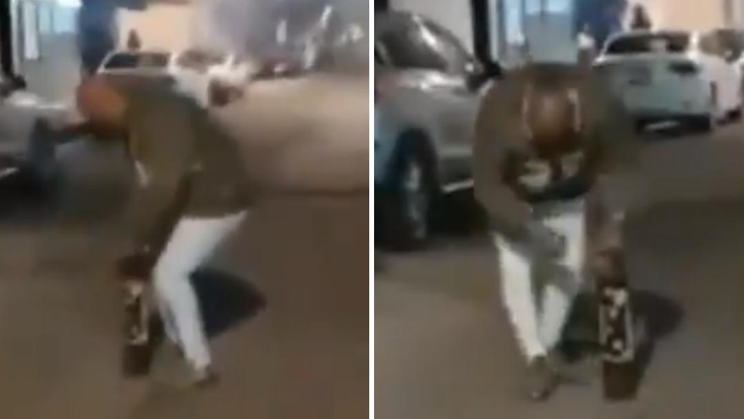 Pirotecnia explota en la cara de un hombre en Nuevo León