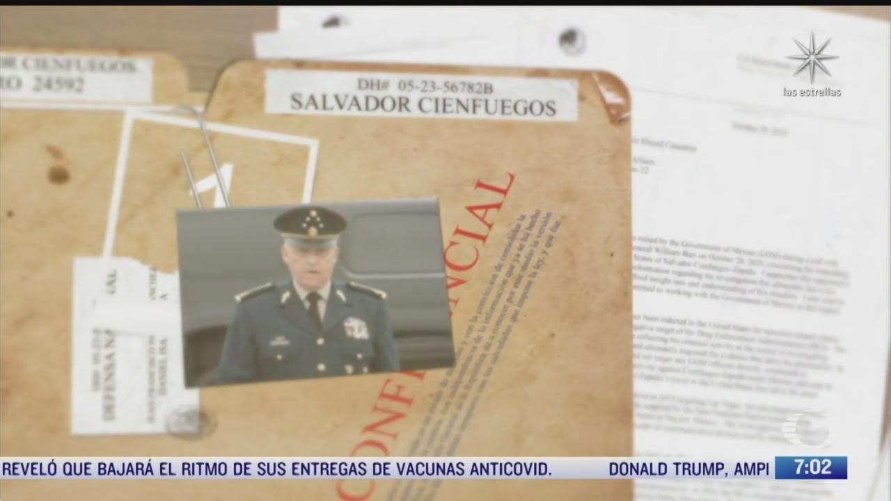 gobierno de mexico da a conocer expediente del caso cienfuegos