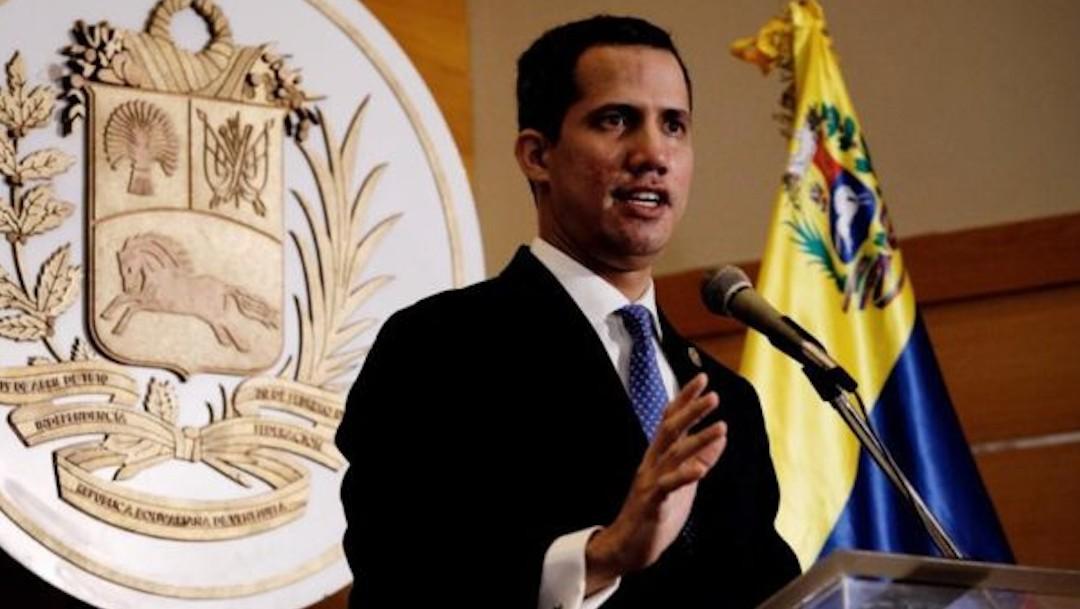 El disidente venezolano, Juan Guaidó (presidenciave.com)