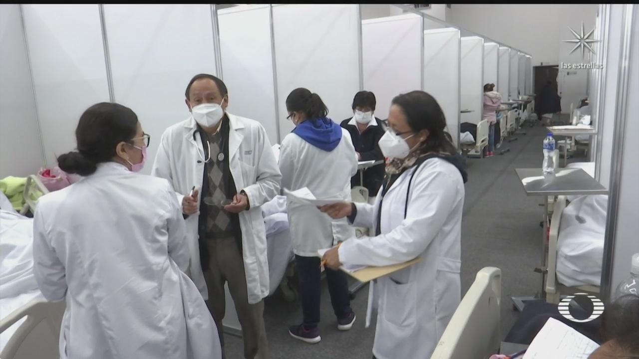 habilitan centro de exposiciones de toluca para atender otras enfermedades