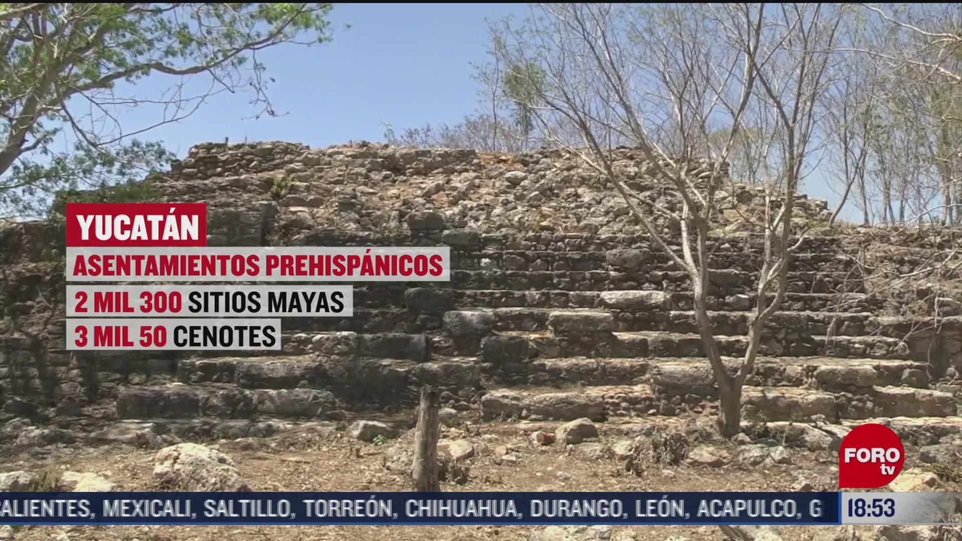 hallazgos arqueologicos en predios de comunidades indigenas de yucatan