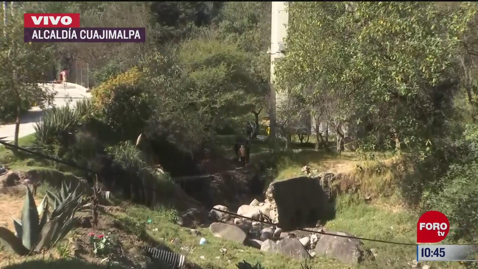hombre se arroja de puente en la autopista mexico puebla