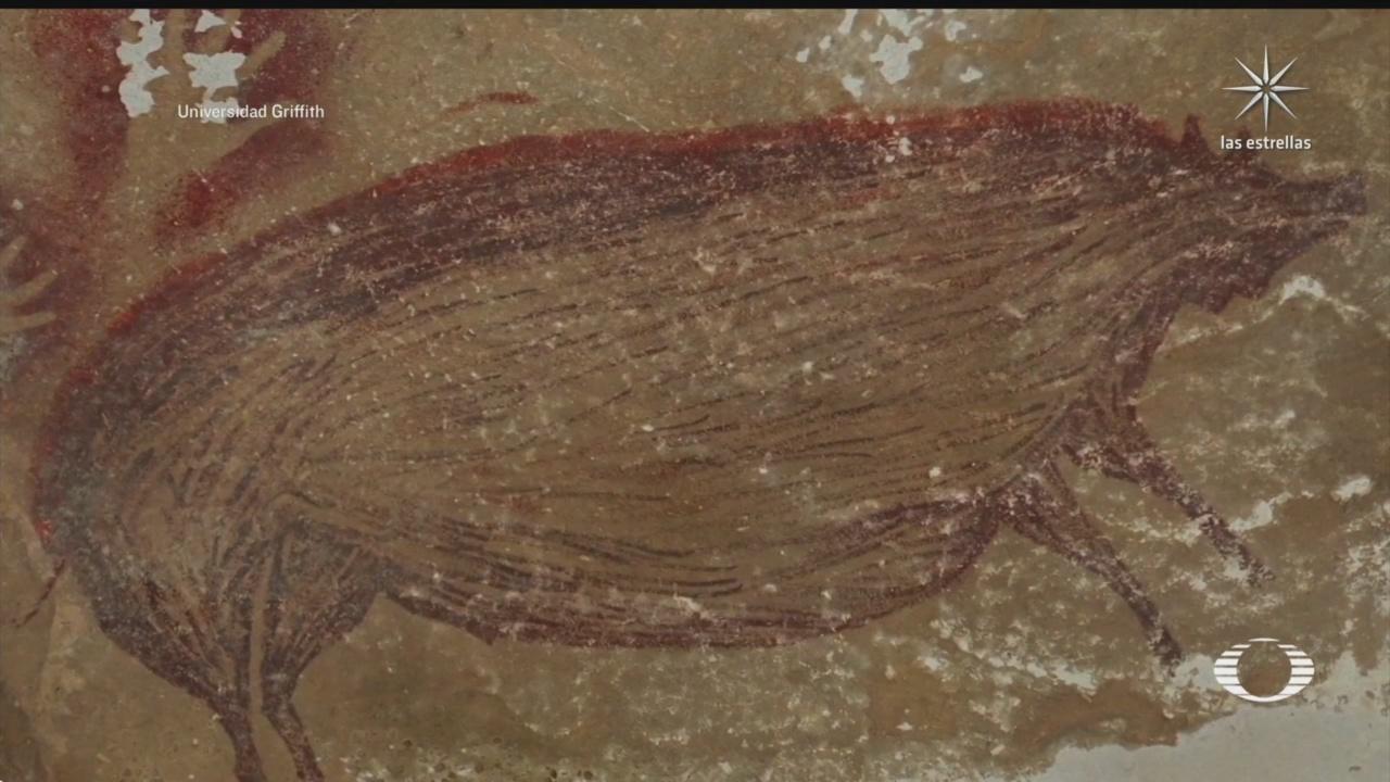 indonesia posee la pintura rupestre mas antigua del mundo