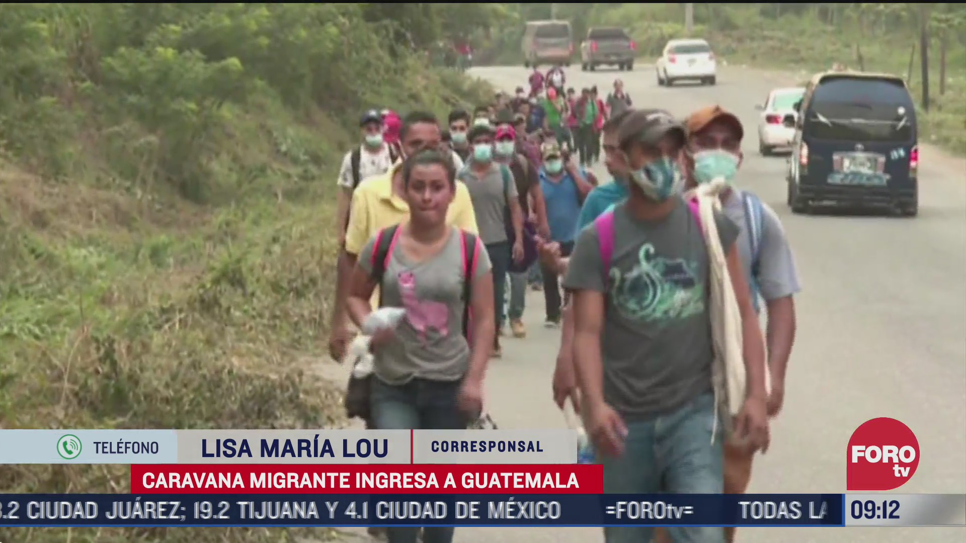 ingresan miles de migrantes a guatemala por frontera de honduras