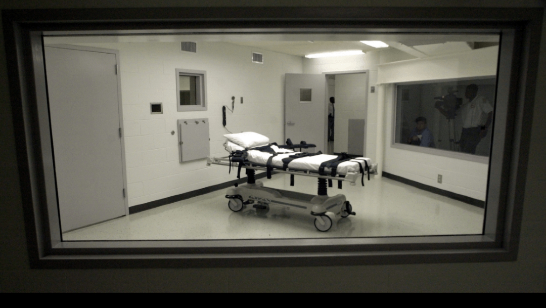Cámara de aplicación de la inyección letal en EEUU
