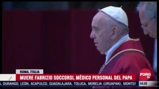 muere por covid 19 el medico personal del papa francisco