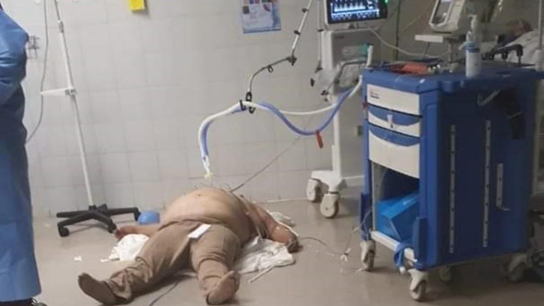 SSA explica foto de paciente en el piso de hospital de CDMX