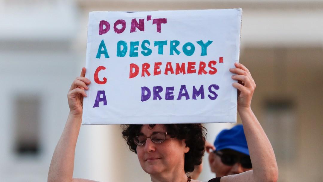Protestas en Estados Unidos en apoyo al programa DACA