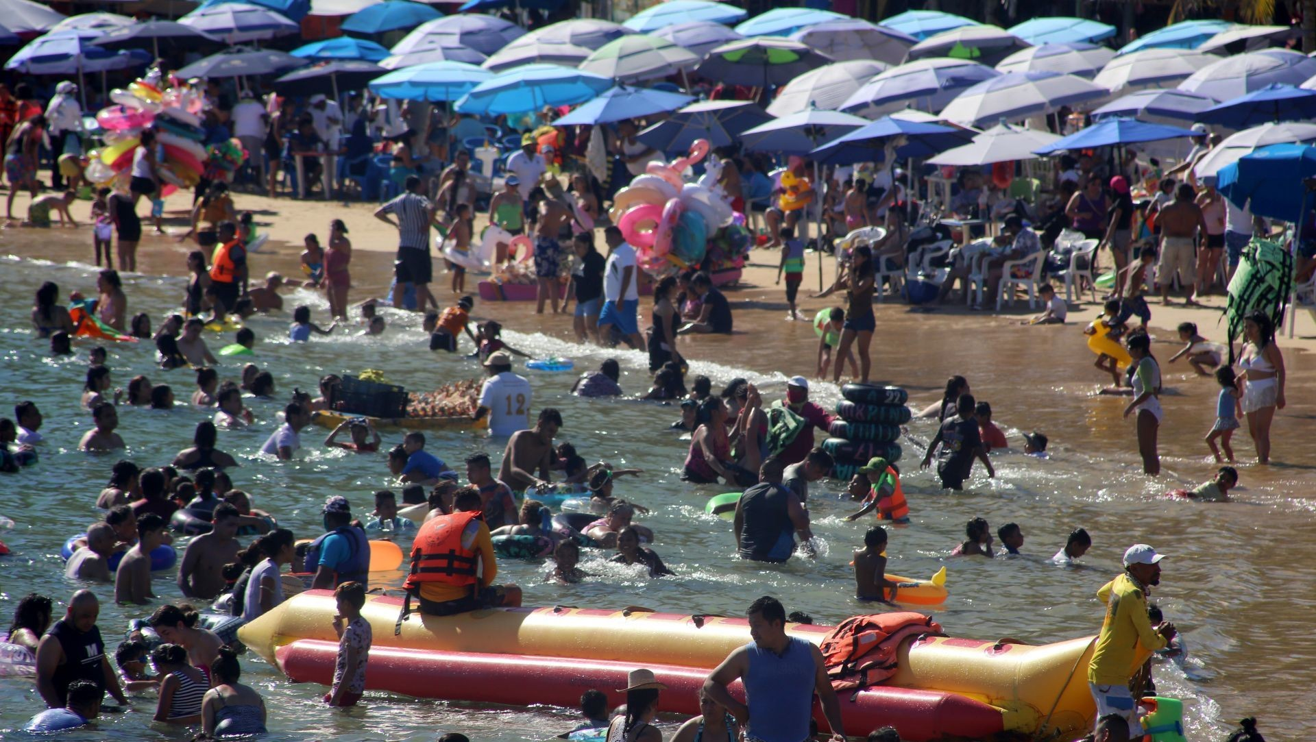 Turismo internacional en México repunta en plena pandemia de COVID-19