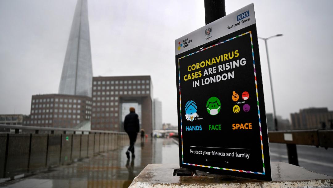 Variante de coronavirus del Reino Unido está en 50 países, asegura la OMS