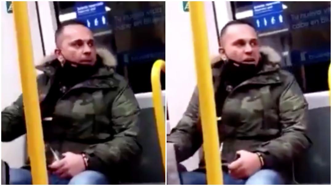 Hombre insulta a mujer llamándola escoria en metro de Madrid y es investigado de racismo