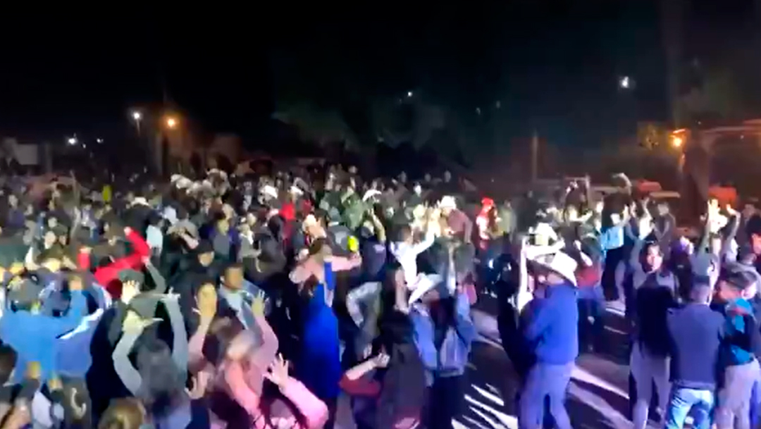 Realizan baile masivo en Guaymas, Sonora pese a covid